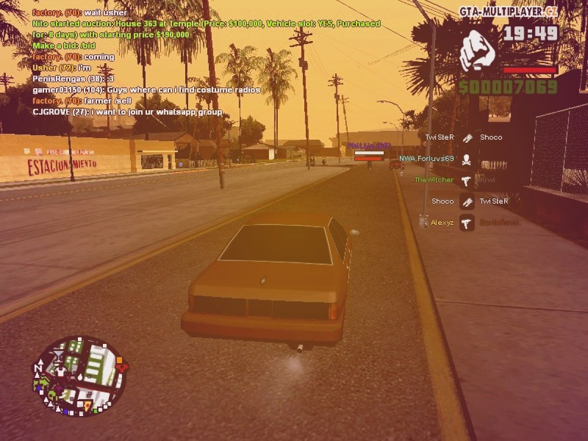 Grand Theft Auto: San Andreas Multiplayer screenshot by